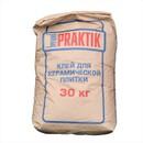 Клей для плитки Bergauf Praktik, 30 кг