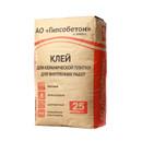Клей для плитки стандартный Гипсобетон (С0), 25 кг