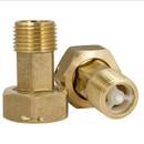 Штуцеры для счетчика воды с обратным клапаном Ду15 (2 шт)