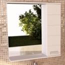 Зеркальный шкаф Comforty Модена 75 белый
