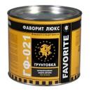 Грунт ГФ-021 красно-коричневый Фаворит ЛЮКС, 2,4 кг