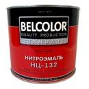 Эмаль НЦ-132 Белколор черная, 1,7 кг