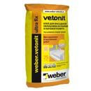 Клей для плитки (С2 T) Weber.Vetonit Ultra fix 25 кг