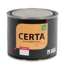 Эмаль термостойкая (до+ 700°С) серебристая CERTA, 0,8кг