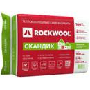 Утеплитель ROCKWOOL Лайт Баттс Скандик 800х600х100 мм 6 штук в упаковке