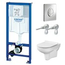 Комплект инсталляция Grohe Rapid SL 3 в 1 с унитазом Cersanit City New Clean On (4148232)