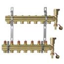 Комплект коллекторов FHF-7 SET с кронштейнами и концевыми секциями DANFOSS 088U0707 (088U0507+2х088U0785+088U0585+088U07K3)