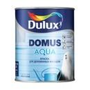 Краска Dulux Domus Aqua фасадная для дерева база BW 1л