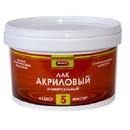 Лак акриловый Аквест-5 орех 1 кг