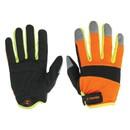 Перчатки Truper механика профессиональные, отражатели на кончиках пальцев 10849