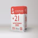 Шпатлевка гипсовая Forman 21 финишная белая, 25кг