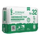 Пол наливной финишный Forman 32 самовыравнивающийся 2-80мм, 25кг