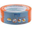Лента малярная 38ммх25м рисовая бумага для деликатных поверхностей голубая