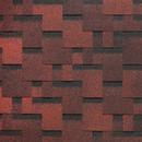 Черепица гибкая Docke Pie Basic Лабиринт Красный, 3 м2