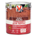 Масло для террас Тиковое Дерево 2,5л V33