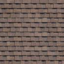 Черепица гибкая многослойная Ранчо Shinglas коричневый, 2 м2