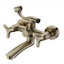 Смеситель для ванны Kaiser Trio 57122-1 Bronze