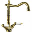 Смеситель для раковины Kaiser Vincent 31011-1Br Bronze