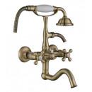Смеситель для ванны Kaiser Carlson 44422-1 Style с подключением к фильтру Bronze