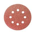 Круг перфорированный из абразив. бумаги 125мм/№80 10шт/уп