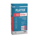 Наливной пол универсальный быстротвердеющий PLATTER SELF 55 Eco, 20 кг