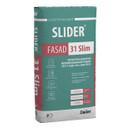 Штукатурка цементная мелкофракционная гладкая SLIDER FASAD 31 Slim, 25 кг