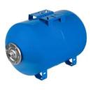 Бак расширительный для водоснабжения Eterna Г-100 оц. фланец (горизонтальный синий)