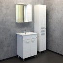 "Зеркало-шкаф COMFORTY ""Модена М-60"", белый матовый (00-00001639)"