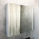 "Зеркало-шкаф COMFORTY ""Сорренто-90"", светло-серый (00-00001968)"