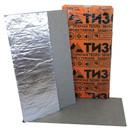 Материал базальтоволокнистый ТИЗОЛ БВТМ-К/Ф1 (1000х600х5)х3 (картон)