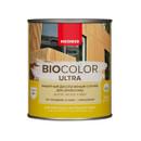 Защитный декоративный состав для древесины Neomid Bio color ultra бесцветный, 0,9 л