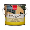 Защитный декоративный состав для древесины Neomid Bio color ultra бесцветный, 2,7 л
