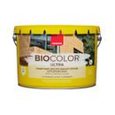 Защитный декоративный состав для древесины Neomid Bio color ultra белый, 9 л