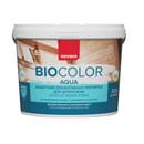 Защитная декоративная пропитка для древесины Neomid bio color aqua, 2,3 л
