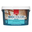 Защитная декоративная пропитка для древесины Neomid bio color aqua, 9 л