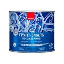 Грунт-эмаль по ржавчине быстросохнущая 3 в 1 Neomid синий, 2,7 кг