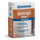 Клей гипсовый монтажный Гипсополимер Перлгипс Мороз, 30 кг