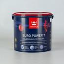 Краска для стен и потолков Tikkurila Euro Power 7, матовая, база С, 2,7л