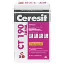 Штукатурно-клеевая смесь для минваты Ceresit CT190 (-10С), 25 кг