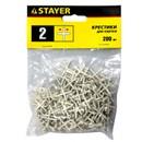 Крестики для плитки Stayer 2 мм (200 штук)