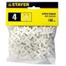 Крестики для плитки Stayer 4 мм (100 штук)