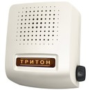 Звонок проводной Соло трель регулятор громкости белый Тритон