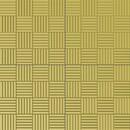 Плитка тротуарная Паркет 300х300х30 мм желтый
