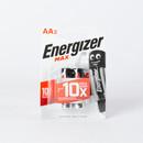 Батарейки алкалиновые Energizer Мах AA - 2 шт на блистере
