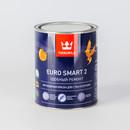 Краска для потолков Tikkurila Euro Smart 2 глубокоматовая, 0,9л