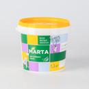 Краска для гостиных и спален MARTA ECO, белая, 1,3кг