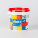 Краска фасадная MARTA ECO, белая, 1,3кг