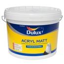 Краска Dulux Acryl Matt д/стен и потолков глубокоматовая BW 9л