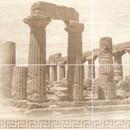 Керамическая плитка Itaka beige panno 4 Gracia Ceramica 600х1000 (1-й сорт)