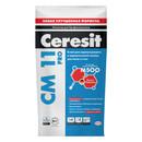 Клей для плитки (C0 T) Ceresit CM11, 5 кг